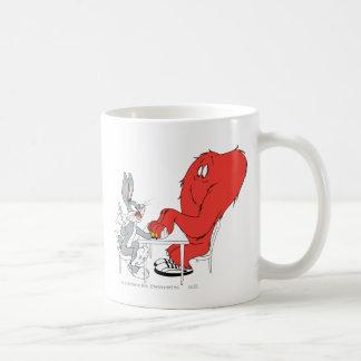 BUGS BUNNY™ and Gossamer 2 Basic White Mug