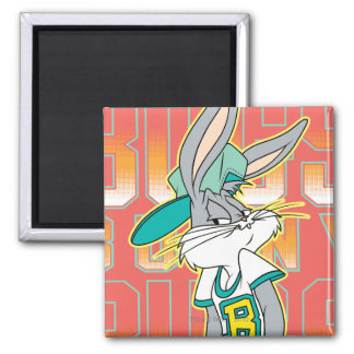 BUGS BUNNY™ Cool School Outfit Square Magnet