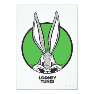 "BUGS BUNNY™ Dotty Icon 5"" X 7"" Invitation Card"