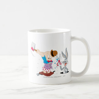 Bugs Bunny et Elmer Fudd Tasse À Café