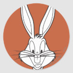 BUGS BUNNY™ Face Smiling Round Sticker