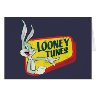 BUGS BUNNY™ LOONEY TUNES™ Retro Patch Card