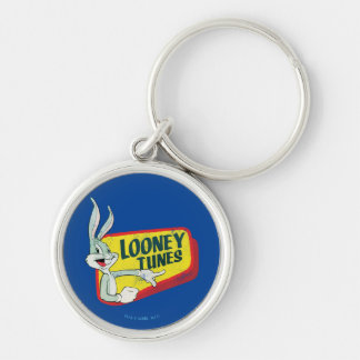 BUGS BUNNY™ LOONEY TUNES™ Retro Patch Keychain