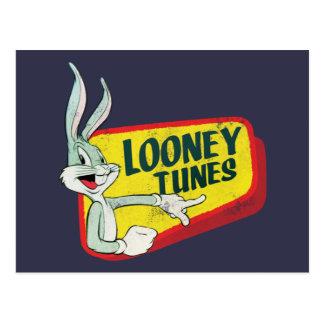 BUGS BUNNY™ LOONEY TUNES™ Retro Patch Postcard