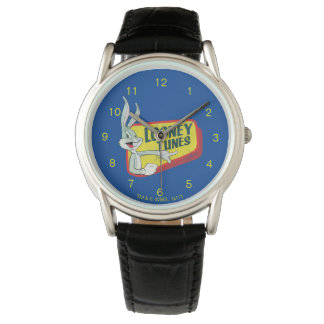BUGS BUNNY™ LOONEY TUNES™ Retro Patch Wrist Watches