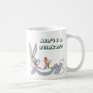 BUGS BUNNY™ Lying Down Eating Carrot Basic White Mug