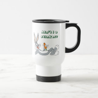 BUGS BUNNY™ Lying Down Eating Carrot Travel Mug