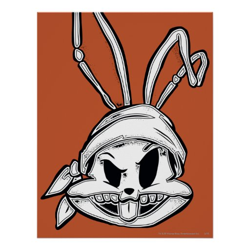 Bugs Bunny Pirate Poster