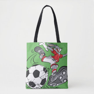 BUGS BUNNY™ Playing Soccer Tote Bag