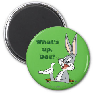 BUGS BUNNY™ Rabbit Hole 2 Inch Round Magnet
