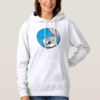 BUGS BUNNY™ Retro Blue Patch Hoodie