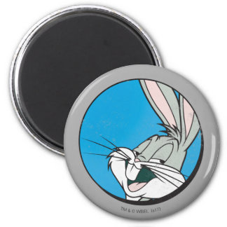 BUGS BUNNY™ Retro Blue Patch Magnet