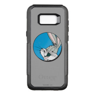 BUGS BUNNY™ Retro Blue Patch OtterBox Commuter Samsung Galaxy S8+ Case