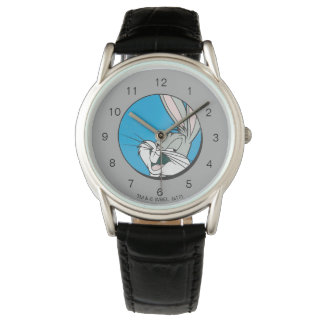 BUGS BUNNY™ Retro Blue Patch Wrist Watches
