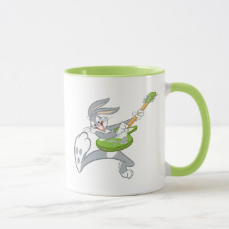 BUGS BUNNY™ Rocking On Guitar Mug