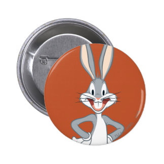 BUGS BUNNY™ Standing 2 Inch Round Button