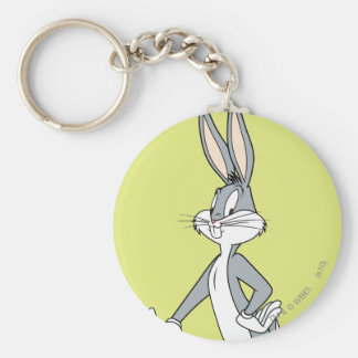 BUGS BUNNY™ Standing 3 Basic Round Button Keychain
