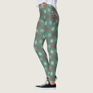 BUGS BUNNY™- The Reason There's A Naughty List Leggings