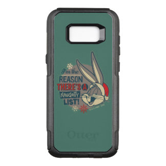 BUGS BUNNY™- The Reason There's A Naughty List OtterBox Commuter Samsung Galaxy S8+ Case