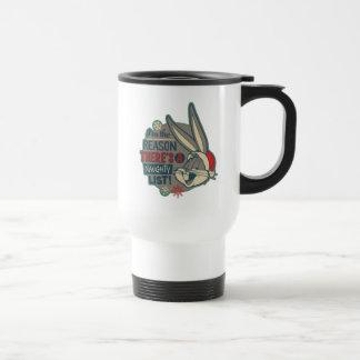 BUGS BUNNY™- The Reason There's A Naughty List Travel Mug