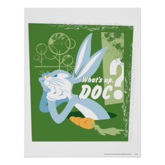 BUGS BUNNY™ What's Up, Doc? Poster