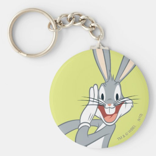 Bugs Bunny Whispering 2 Key Chains