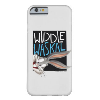 BUGS BUNNY™- Widdle Waskal Barely There iPhone 6 Case