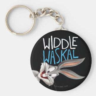 BUGS BUNNY™- Widdle Waskal Keychain