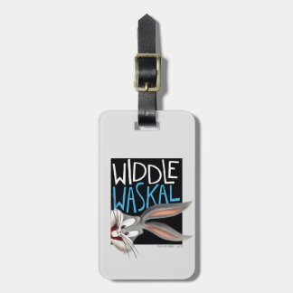 BUGS BUNNY™- Widdle Waskal Luggage Tag