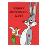 BUGS BUNNY™ With Carrot Greeting Card