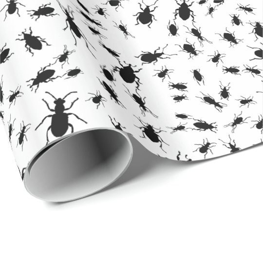 Bugs, Creepy Crawlies Wrapping Paper