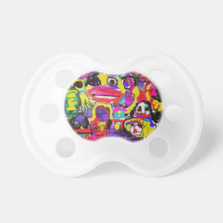 Bugs in The White House Abstract Baby Pacifiers