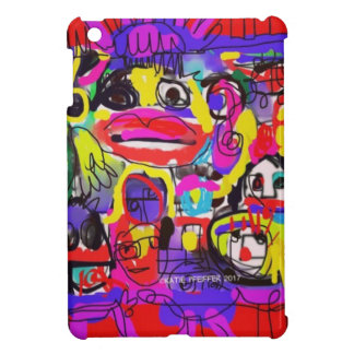 Bugs in The White House Abstract iPad Mini Cases
