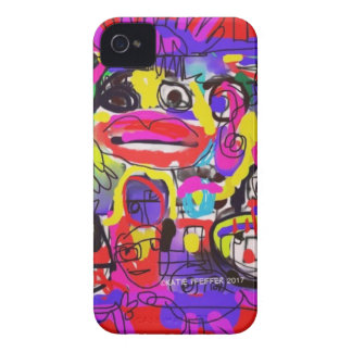 Bugs in The White House Abstract iPhone 4 Case-Mate Case
