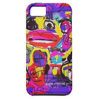 Bugs in The White House Abstract iPhone 5 Covers