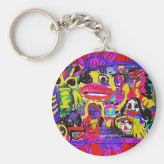 Bugs in The White House Abstract Keychain