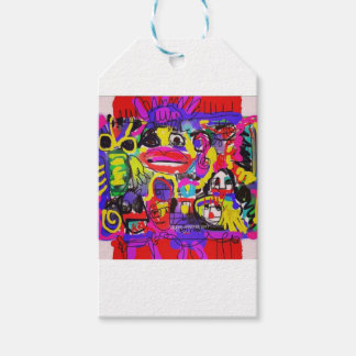 Bugs in The White House Abstract Pack Of Gift Tags