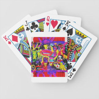 Bugs in The White House Abstract Poker Deck