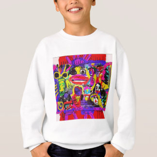 Bugs in The White House Abstract Sweatshirt