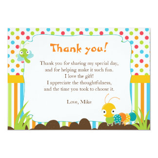 Bugs Thank You Card Note