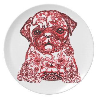 Bugsy Party Plate