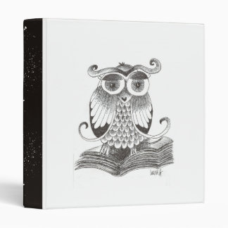 Buho - Owl 3 Ring Binder