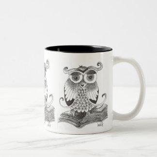 buho - owl coffee mugs