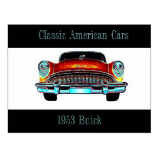 Buick 1953 Postcard