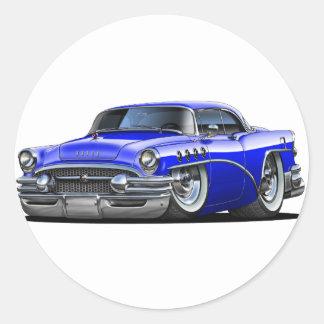 Buick Century Blue Car Classic Round Sticker