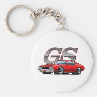 Buick GS_red Porte-clé Rond