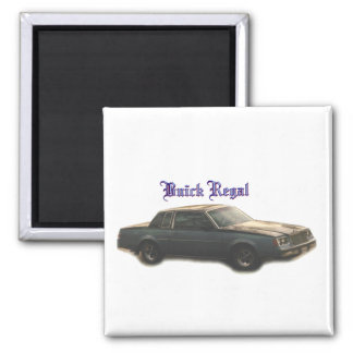 Buick Regal Fridge Magnet