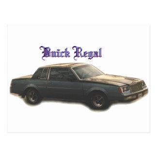 Buick:  Regal Postcard