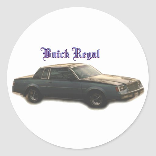 Buick:  Regal Sticker