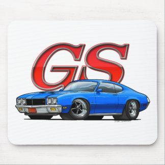 BuickGS_blue Mouse Pad
